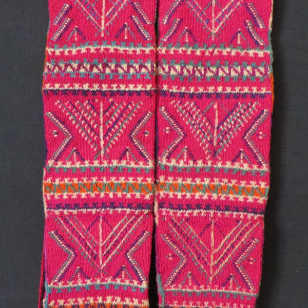 Anatolian - Sivas - Divrigi Kurdish Winter high altitude wool stockings