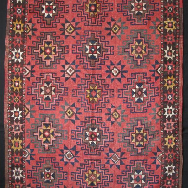 Central Asia - Kirgiz- Girdem Gul Memling design rug