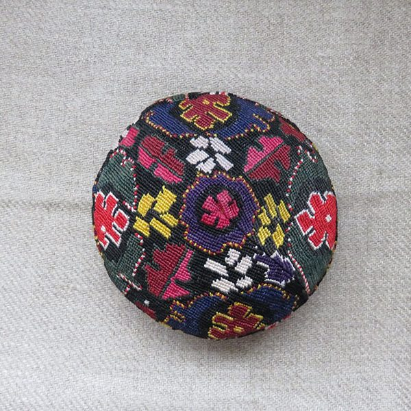 Central Asia, Uzbekistan, Bokhara tribal hat