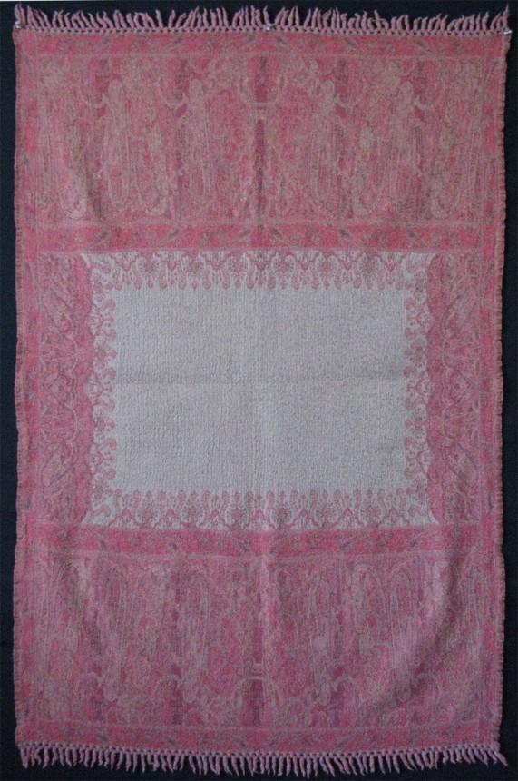 Kashmir wool small Shawl- Blanket