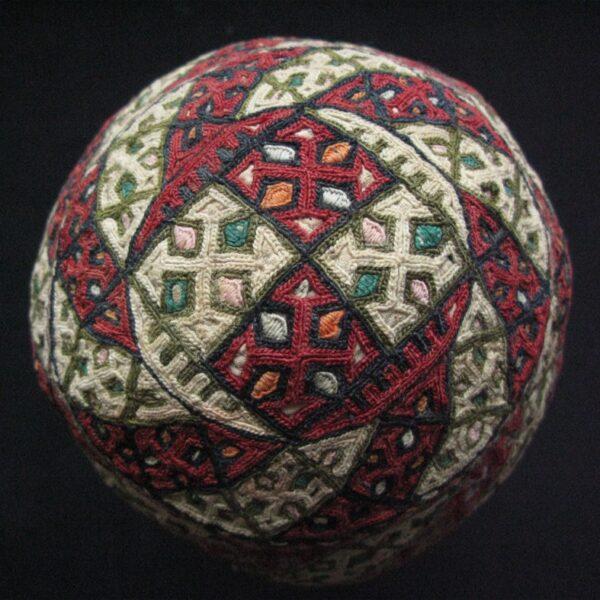Turkmenistan Turkmen Yomud tribal child cap