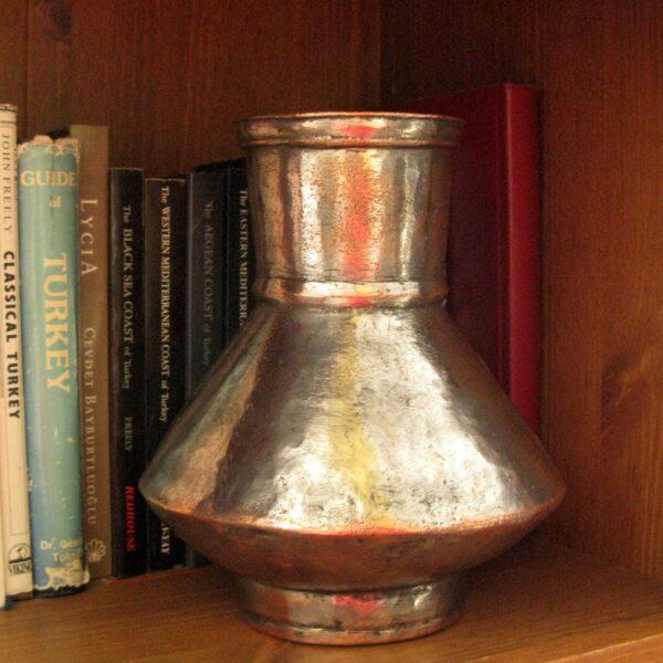 Eastern Anatolian Ottoman copper jug - tinned