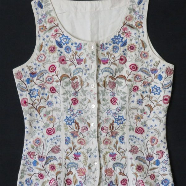 India - woman's vest with floral design
