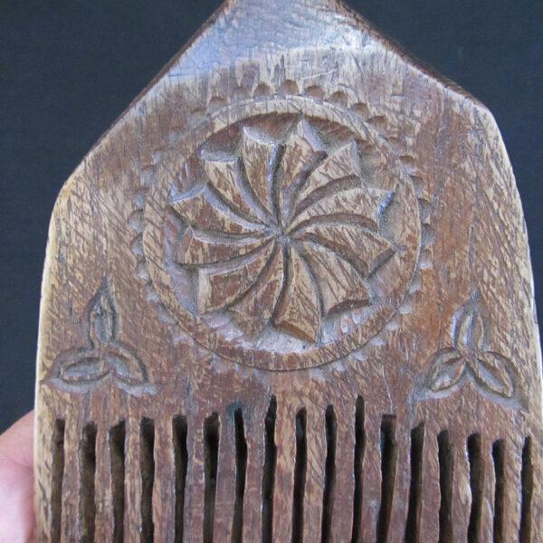 Anatolia Konya flat weaving comb