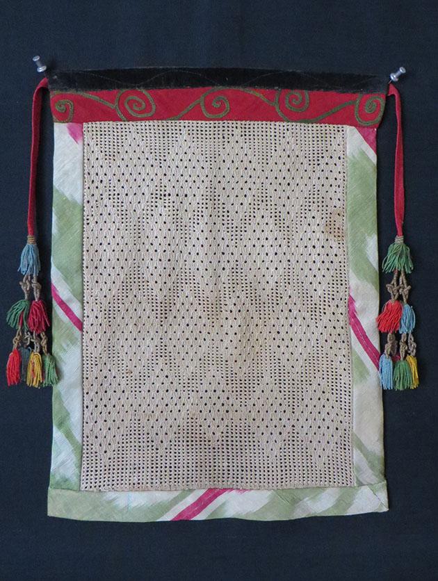 Tajikistan tribal ruband wedding veil
