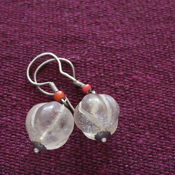 Iraqi Najaf stone earrings