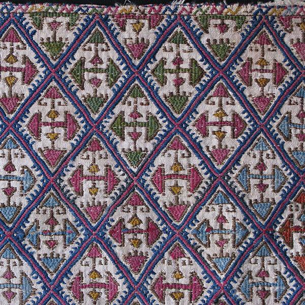 Central Anatolian Turkmen antique kilim bag