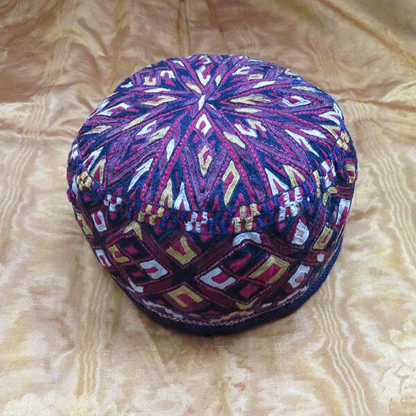 Turkmenistan - silk embroidery skullcap