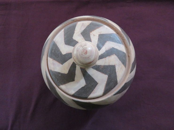 Turkey - Cappadocia fired and painted clay pot