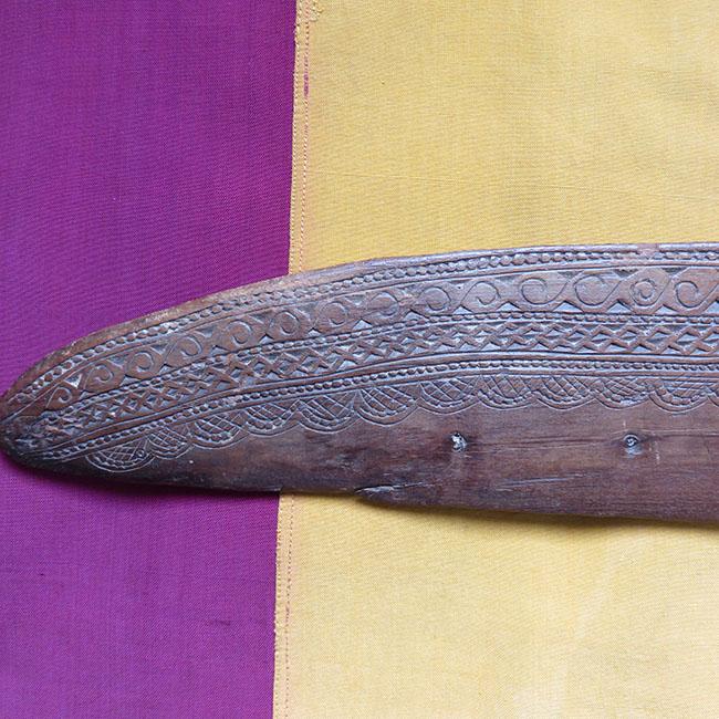 Anatolian Taurus Mt. Turkmen wooden tribal weaving comb