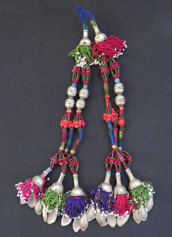 Afghanistan tribal decorative mix beaded tassels