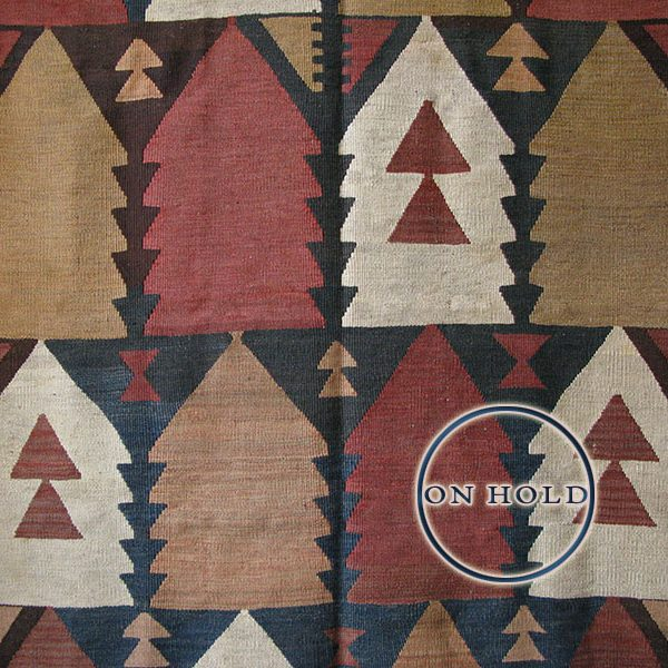 Tajikistan – tribal wool kilim made by Arab tribes in desert areas
