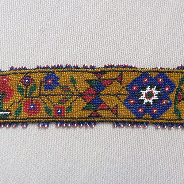 Anatolia – Sivas, central East Turkey, fine glass beaded belt