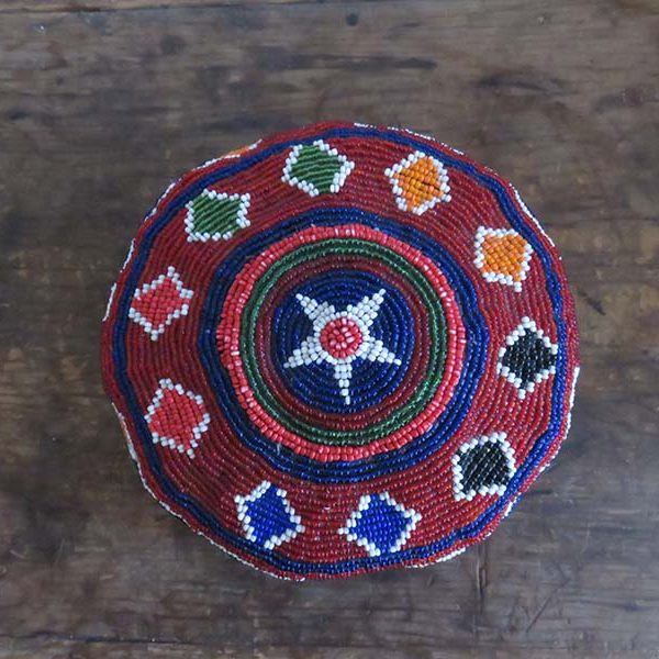 Afghanistan – Pashtun glass beaded hat