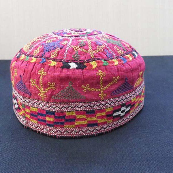 Iran – Turkmensahra, Turkmen tribal silk hat