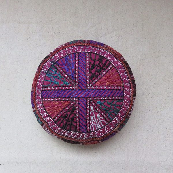 Iran – Khorasan, Turkmen silk embroidery tribal hat