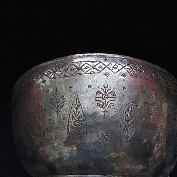 Anatolian – Ottoman hand forged copper bowl