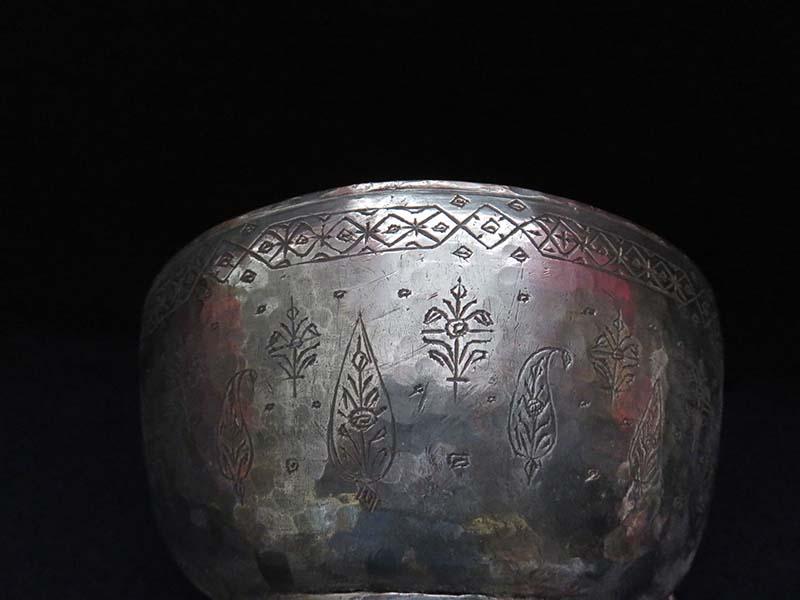 Anatolian – Ottoman hand forged copper bowl