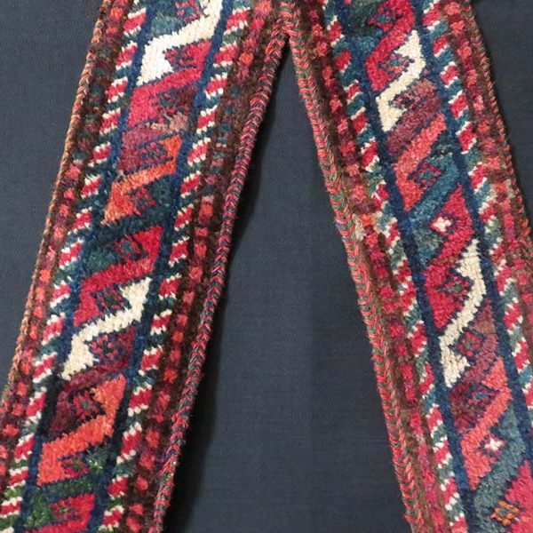 Afghanistan Baluch tribal pile tent band