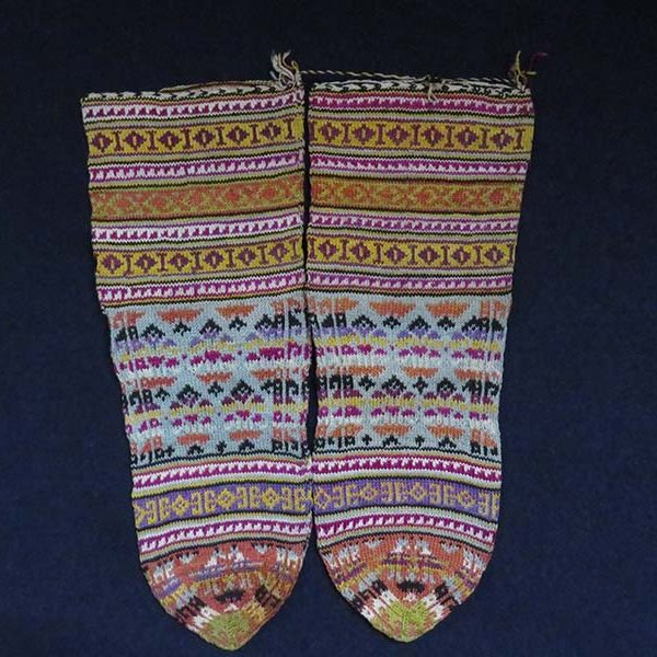 Iran – Tabriz, Shahsavan tribal silk stockings