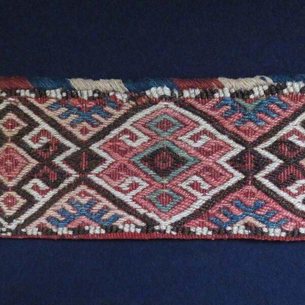 PERSIA – Azerbaijan, Shahsavan tribal scissor bag