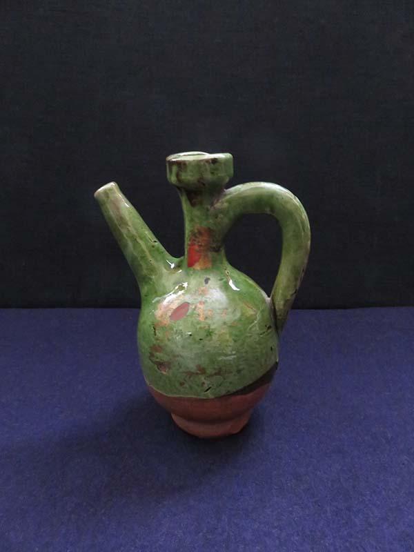 Anatolian – Tokat province, Glazed mini ceramic ewer