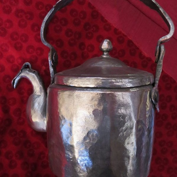 Turkey Ottoman copper tinned teapot from Black Sea region
