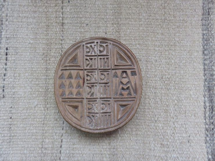 Greece – wooden bread seal stamp