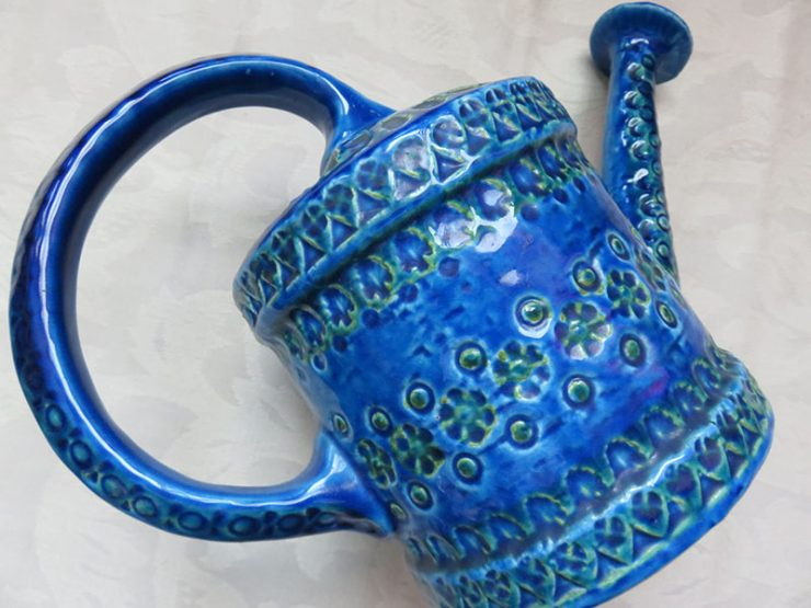 Anatolia – Canakkale, vintage flower watering ceramic can