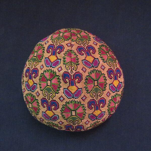 Uzbekistan – Lakai tribal silk skullcap