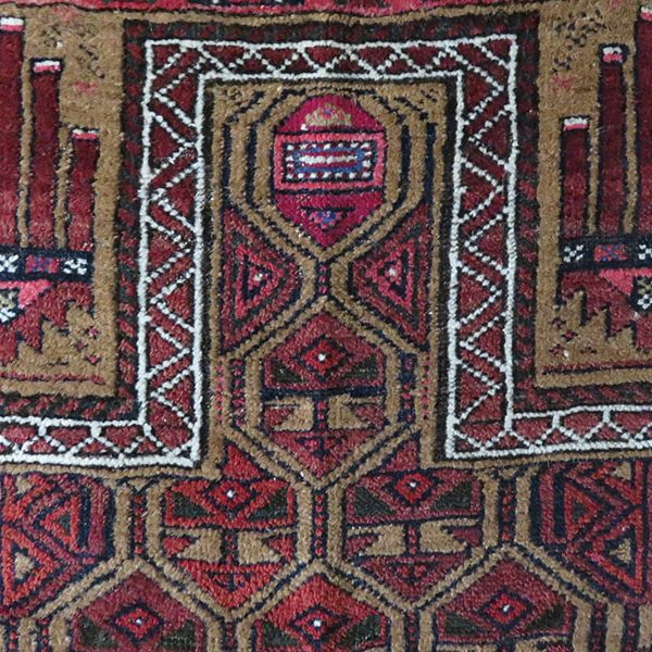 Afghanistan – Baluch tribal prayer rug