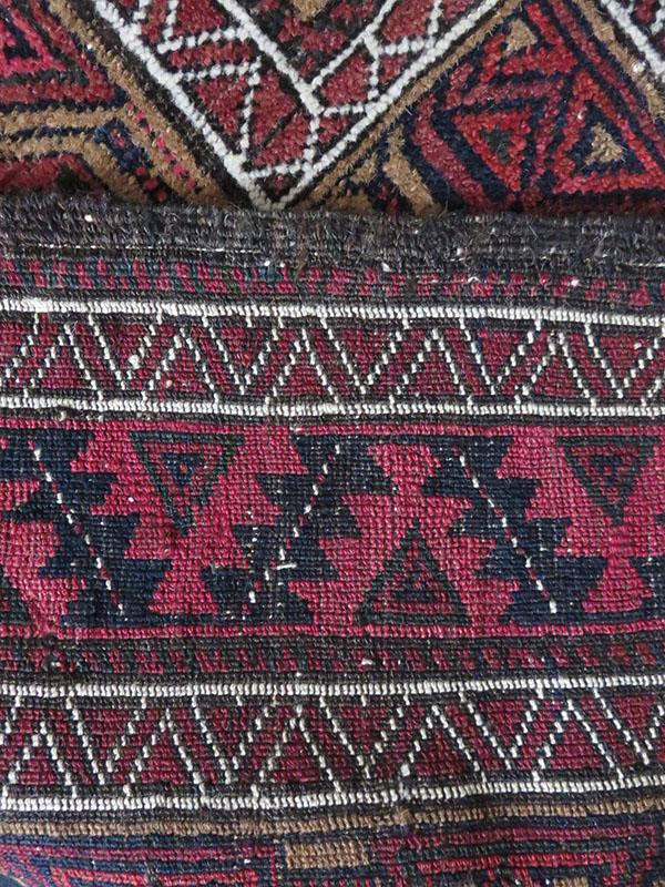 Afghanistan – Baluch tribal prayer rug