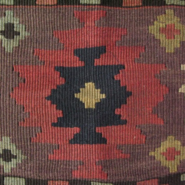 Caucasus - Azerbaijan, south mountainous area antique kilim