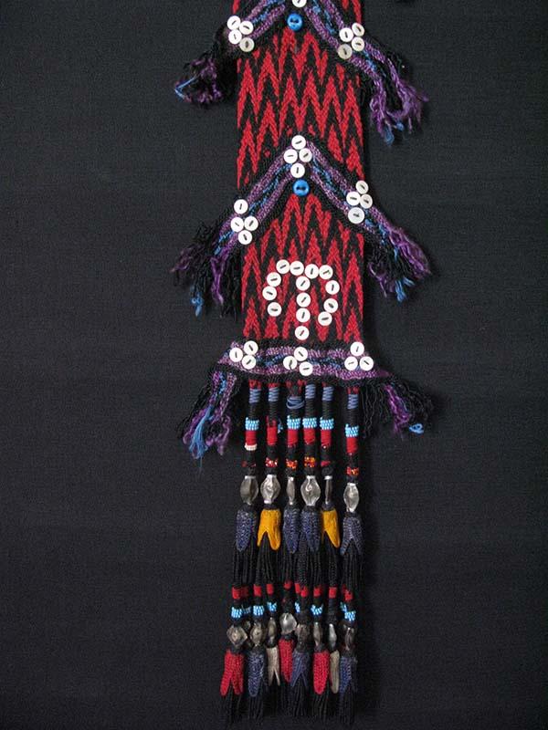 Afghanistan – Uzbek ethnic decorative braided hanging tassels