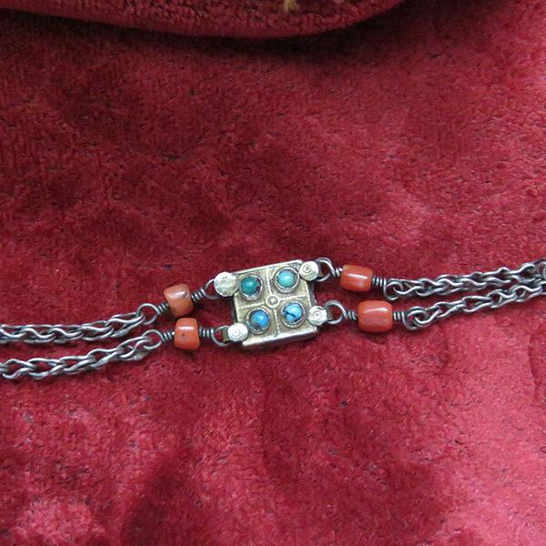 Uzbekistan – Khiva ethnic silver bracelet