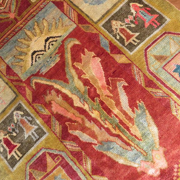 Iran North west, Kurdish tribal rug