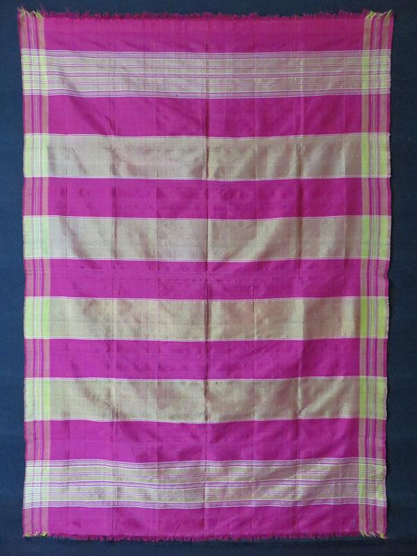 Turkmenistan – silk hand loomed scarf