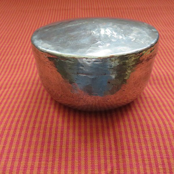 Persian Qajar handmade copper dervish bowl
