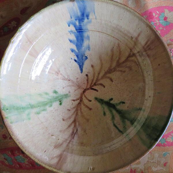 Anatolian – Bilecik Kinik glazed ceramic plate