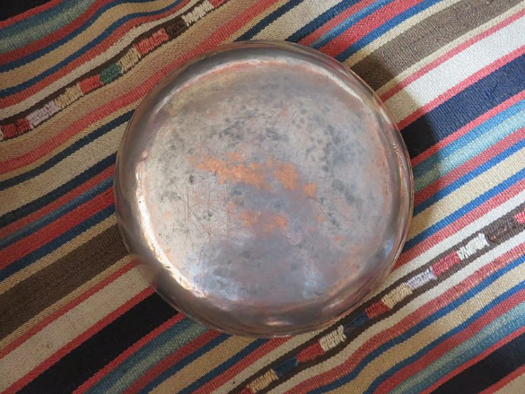 Ottoman – Turkish antique dated copper plate