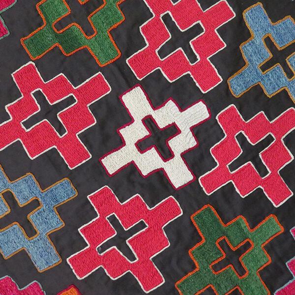 Tajikistan – Kungrat silk mirror cover