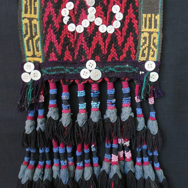 Afghanistan - Uzbek ethnic decorative braided hanging tassels