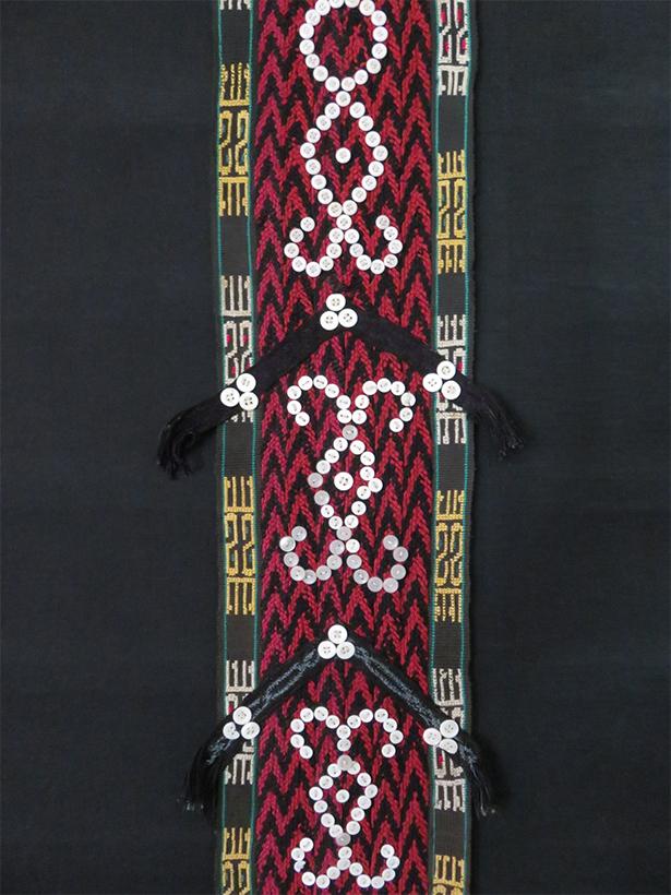 Afghanistan - Uzbek ethnic decorative braided hanging tassels
