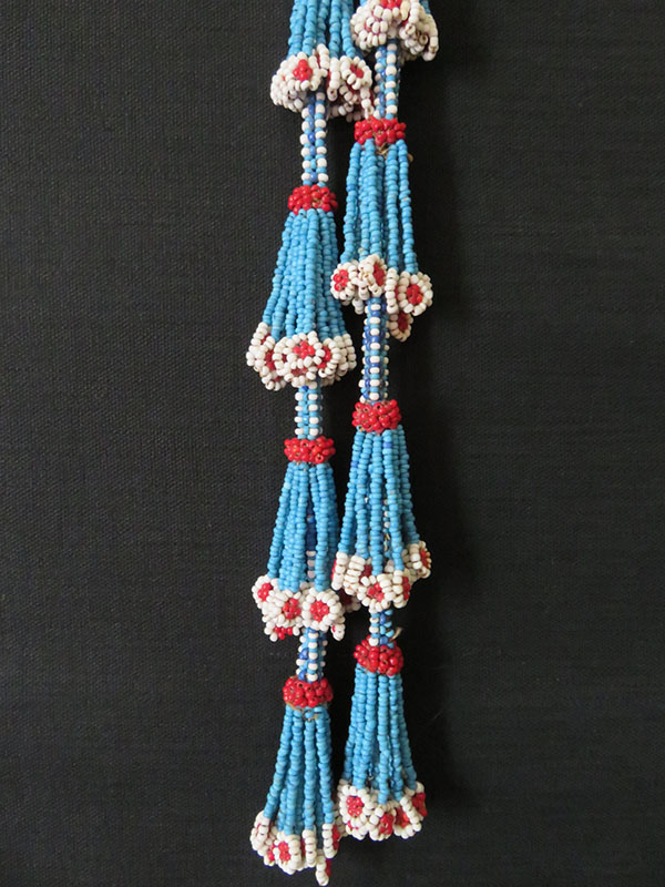 Afghanistan Kuchi tribal beaded hair tassels