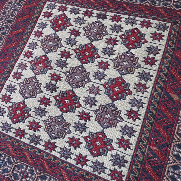 Afghanistan - Baluch tribal khorijin – wool bag face