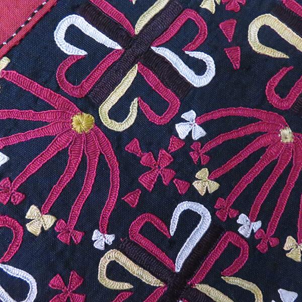 Turkmenistan - Tribal Tekke Turkmen silk embroidery vanity bag