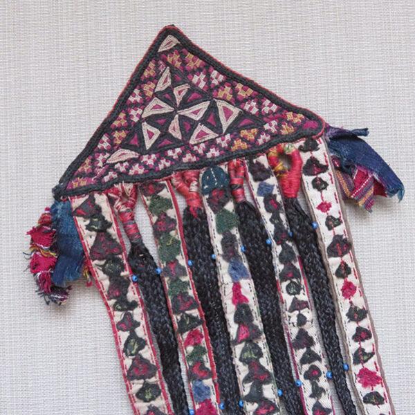 Turkmen Tekke tribal talisman wall hanging
