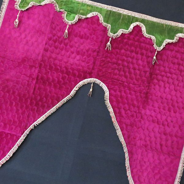 Azerbaijan – antique silk velvet window draper