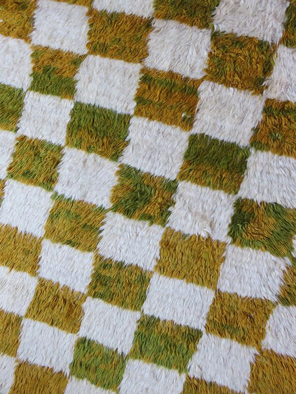 Anatolian Taurus Tulu mountains tribal all wool rug