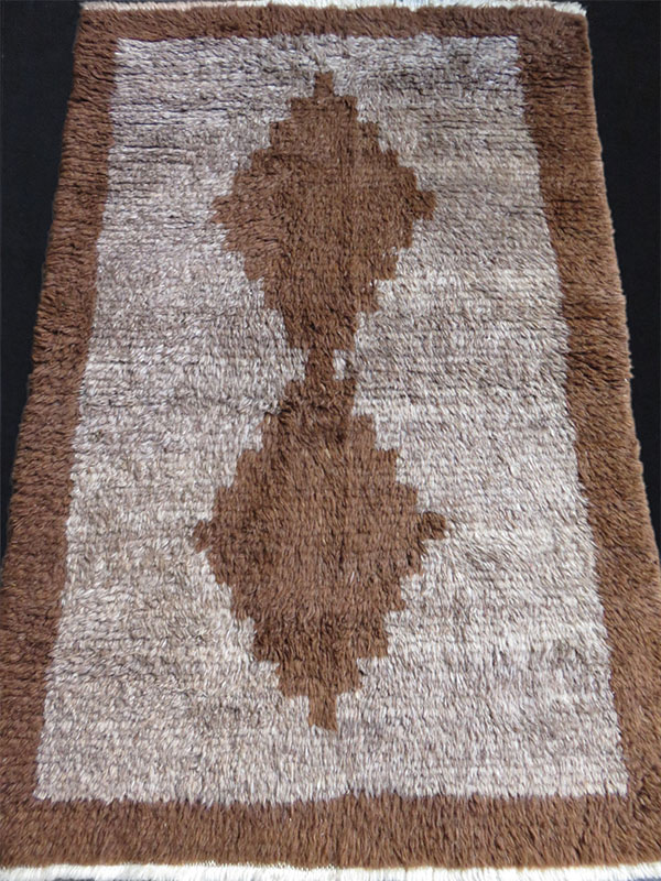 Anatolian Taurus Mountains tulu minimalist tribal rug